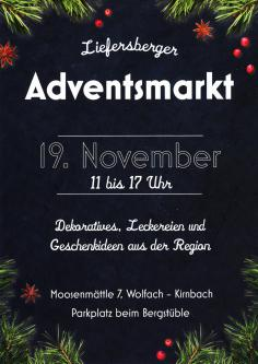 Liefersberger Adventsmarkt